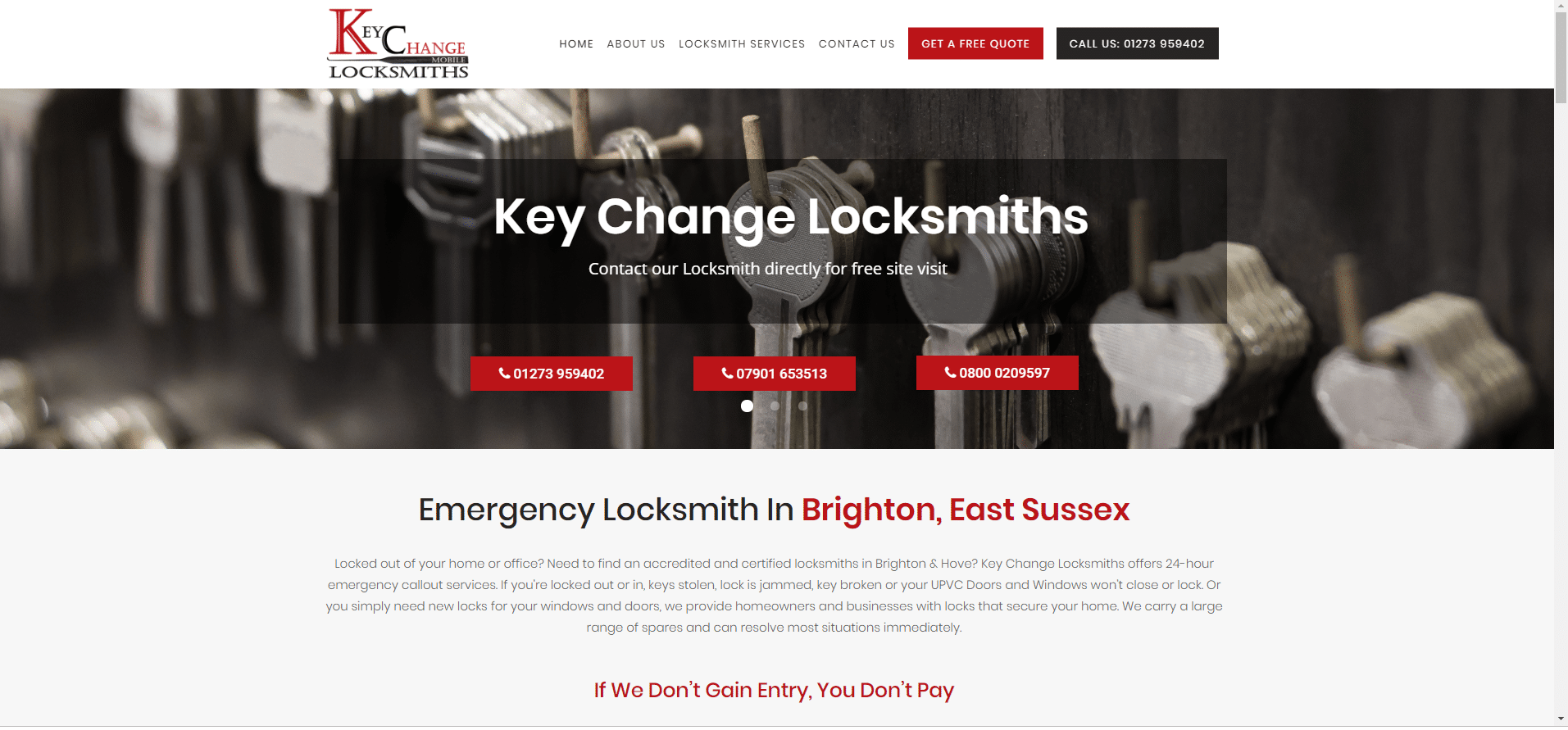 key change locksmith hove
